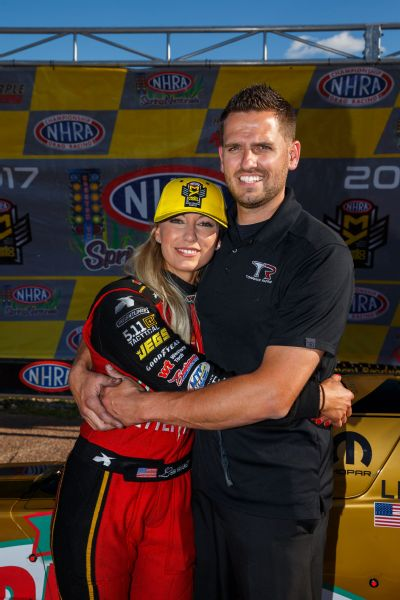 Leah and Gary Pritchett