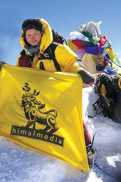 On May 24, 2008, Basnet reached the summit of Mount Everest and became part of the most successful all-woman expedition in Everest history.
