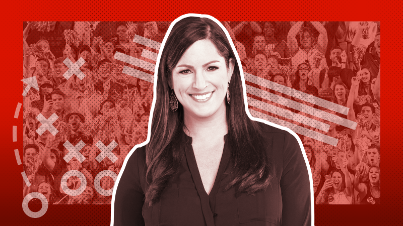 espnW College Football Bachelorette - Sarah Spain