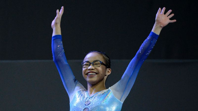 Morgan Hurd placed sixth at U.S. nationals this year, before putting it all together at world championships to win the all-around title.