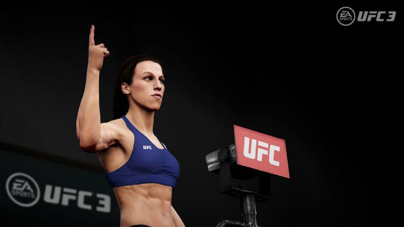Gamers can opt to play Jedrzejczyk in UFC 3.