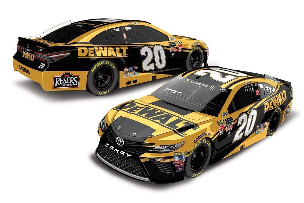 2018 NASCAR Cup Series Paint Schemes - Team #20 Joe Gibbs ...