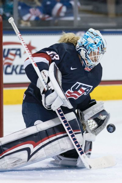 Alex Rigsby was one of the final cuts from the 2014 U.S. Olympic roster but was named to the 2018 team on Jan. 1.