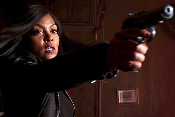 Macken doubles Taraji P. Henson, who plays Mary -- a hired assassin, in Proud Mary.