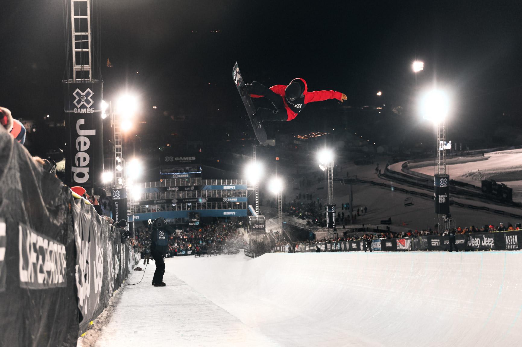 Xuetong Cai, W's Snowboard SuperPipe Final