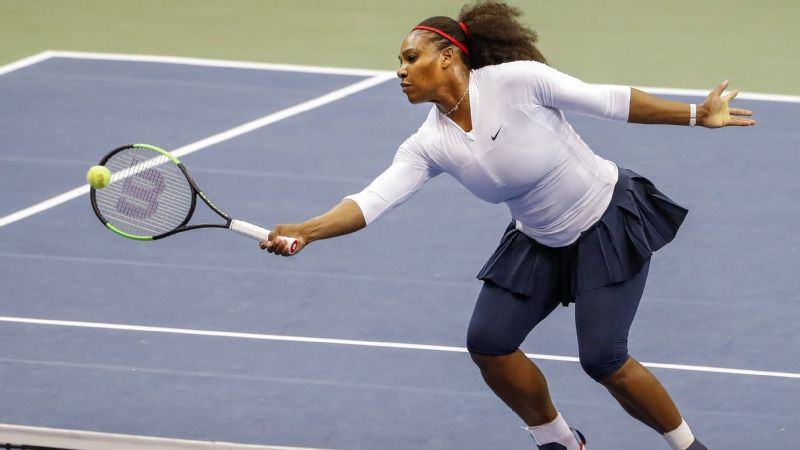 Serena Williams looked a step slow Sunday, but there's little reason to think she won't vastly improve in the coming weeks.
