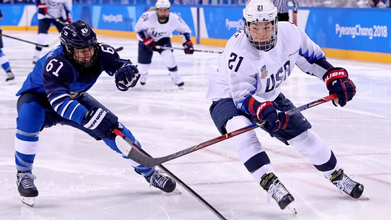 Hilary Knight vs Finland