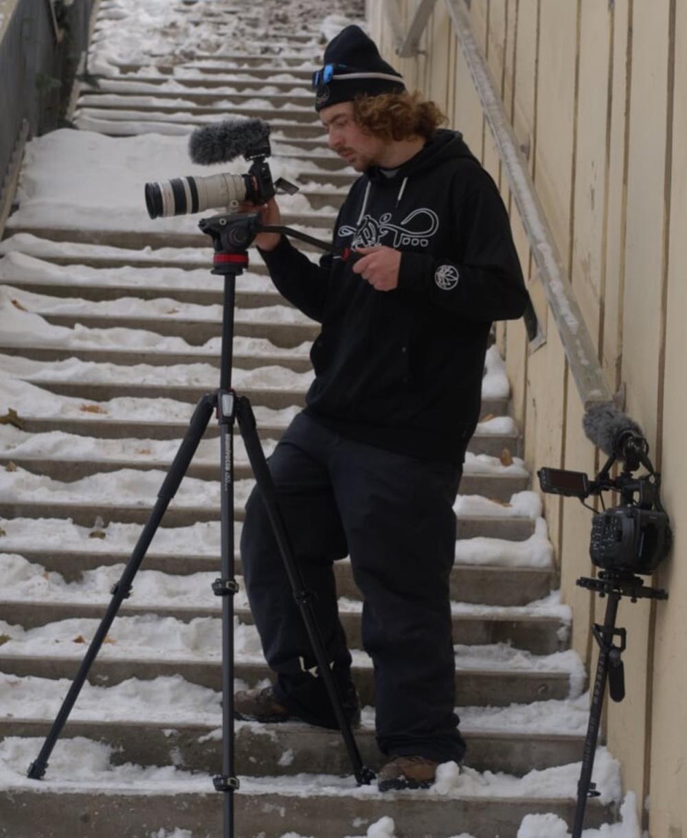 Kilbride's filmer: Ethan Timmons