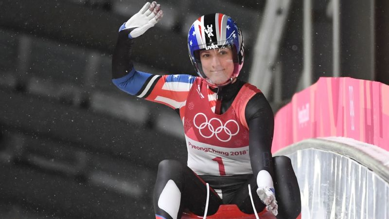 It was a disappointing final luge race for Erin Hamlin, but she says goodbye to her Olympic career holding nothing but positive memories.