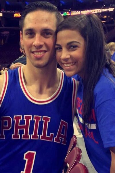 Megan McConnell says her brother T.J. has taught her the importance of self-confidence.