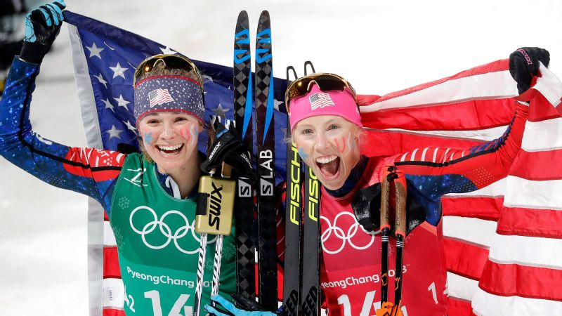 To put the victory by Jessica Diggins and Kikkan Randall in perspective, the United States had never won a medal of any kind in women's cross-country skiing prior to the race.