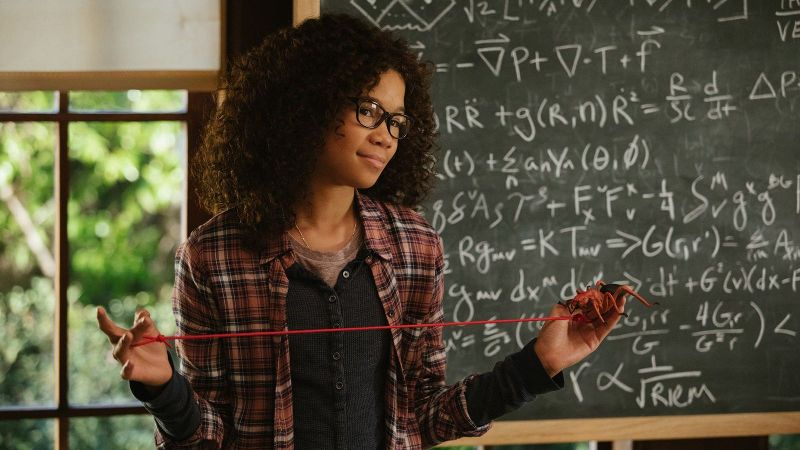 Storm Reid plays Meg Murry in A Wrinkle in Time.