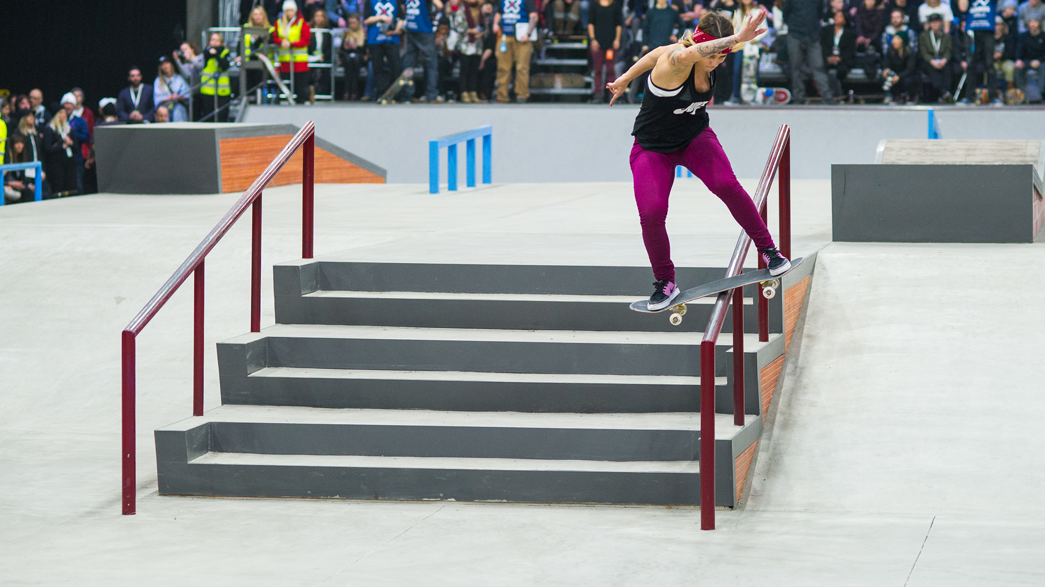 Leticia Bufoni is on the list of athletes invited to compete at X Games Norway 2018.