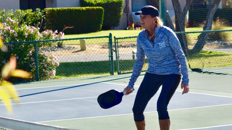 Just two years ago, Sherri Steinhauer was introduced to pickleball by an old teammate. She's been hooked ever since.