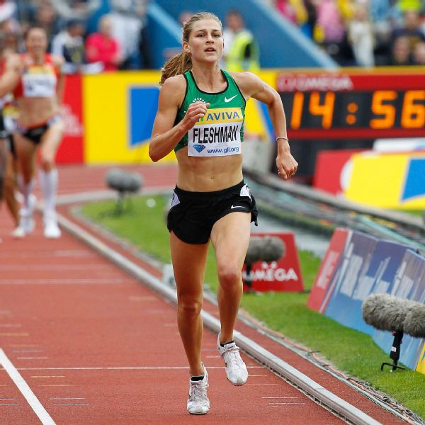 Lauren Fleshman was a two-time national outdoor champion in the 5,000 meters.