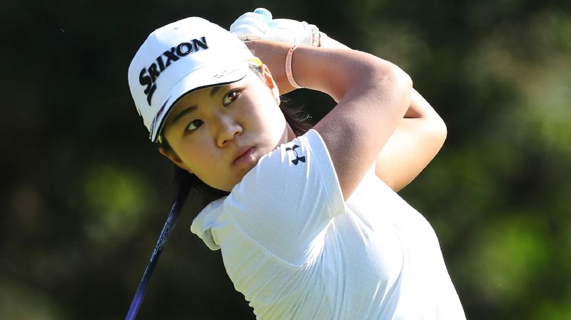 After winning the NW Arkansas Championship last week, 19-year-old Nasa Hataoka sits in a tie for eighth at the KPMG Women's PGA Championship.