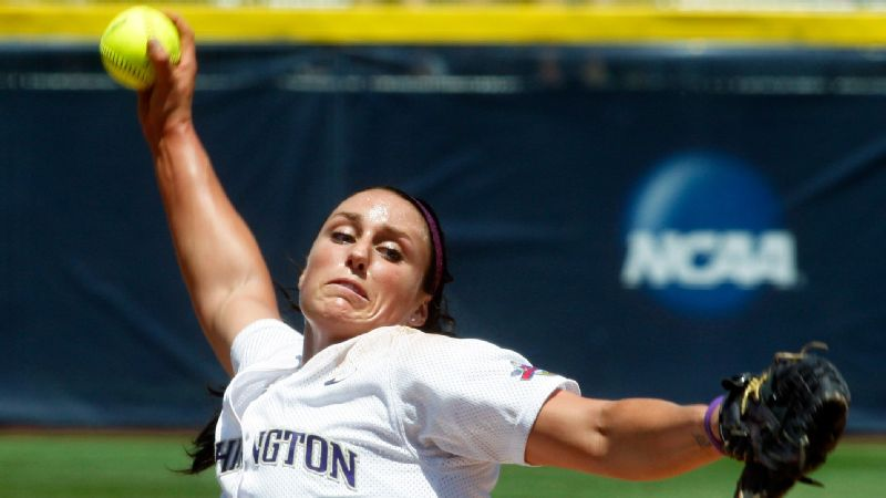 Danielle Lawrie and her competitive fire led Washington to a national championship in 2009.