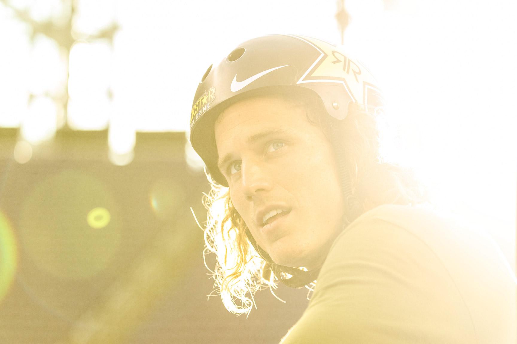 Dennis Enarson, BMX Park practice