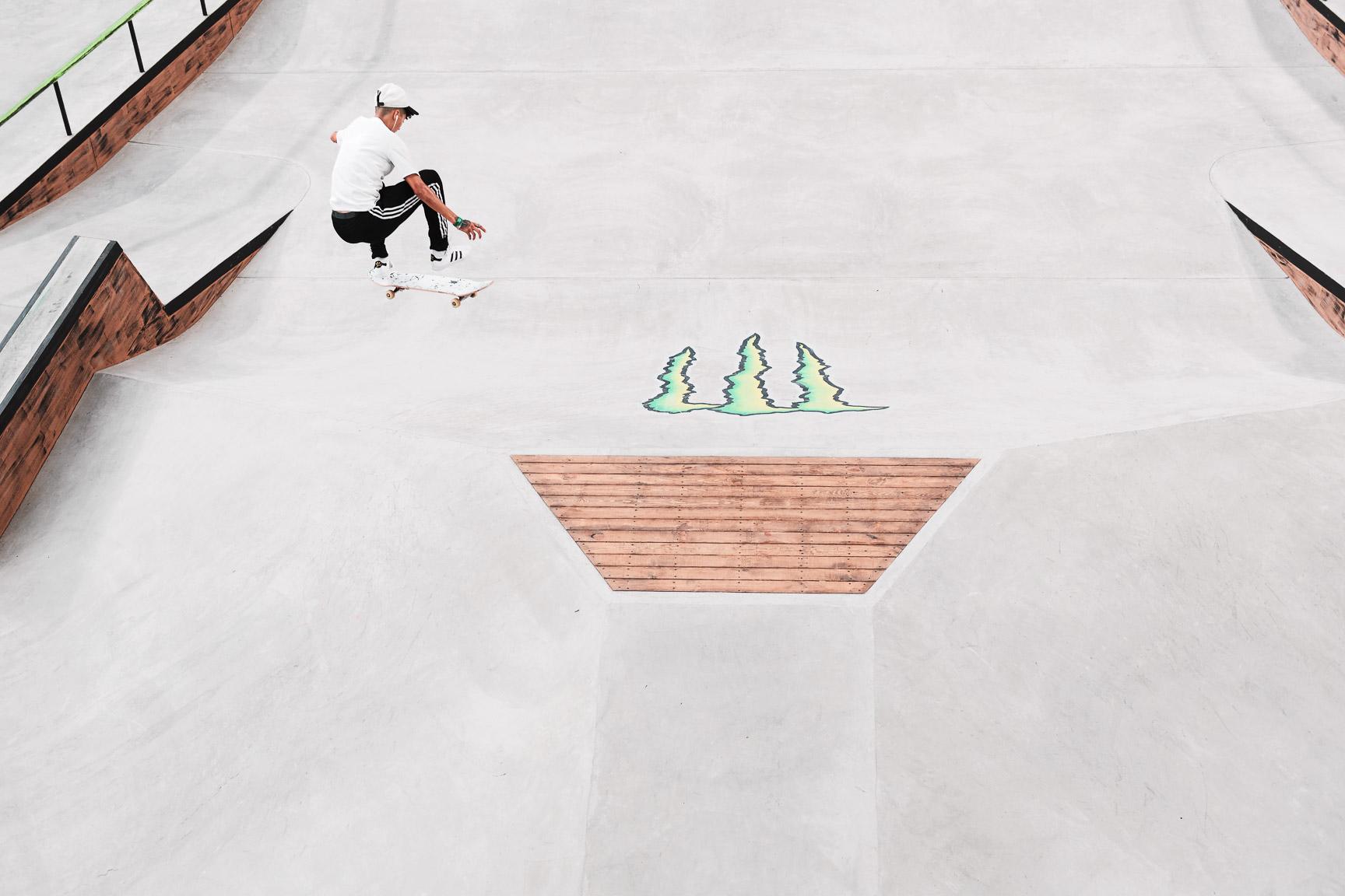 Jenn Soto, Women's Skateboard Street qualifier