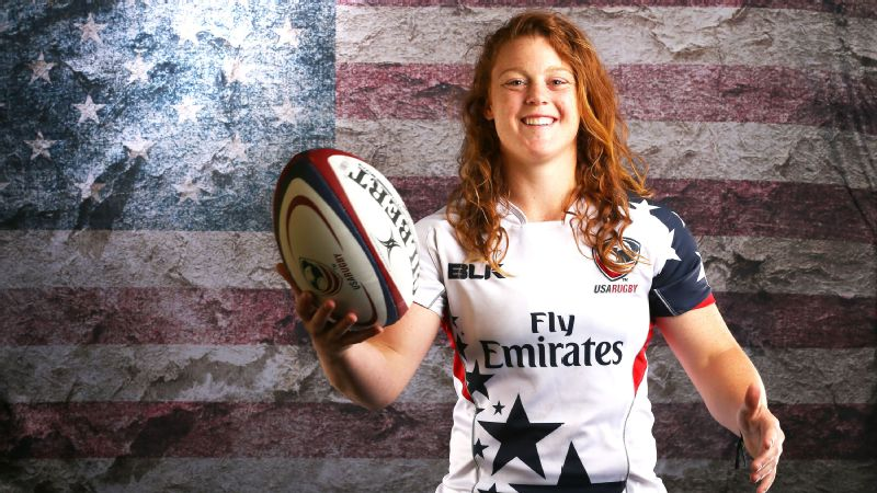 What came first for Alev Kelter -- learning how to play rugby or making Team USA?