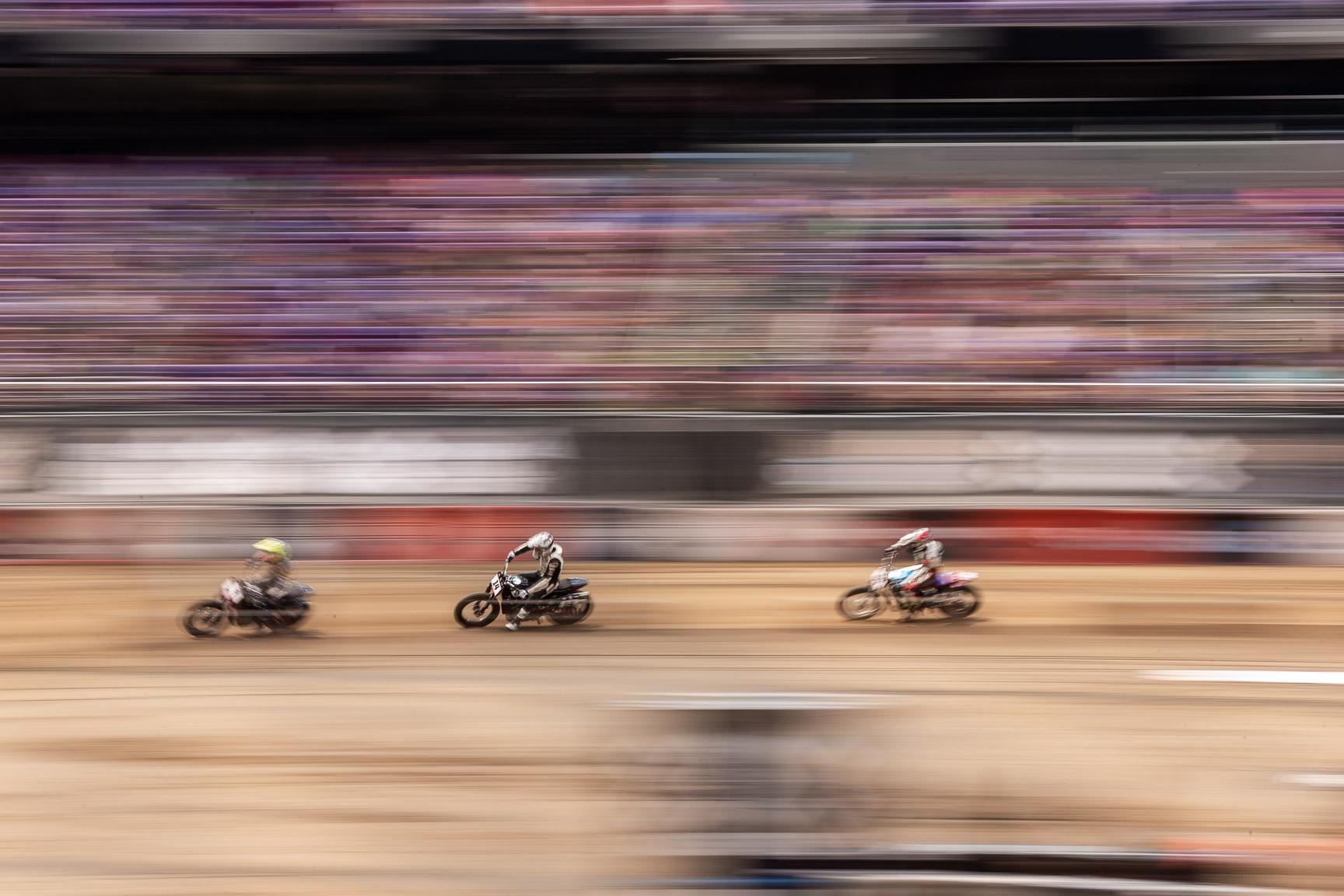 Briar Bauman, Harley-Davidson Flat Track quarterfinal