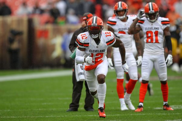 Browns announce terms of Josh Gordon trade, sign WR Rod Streater
