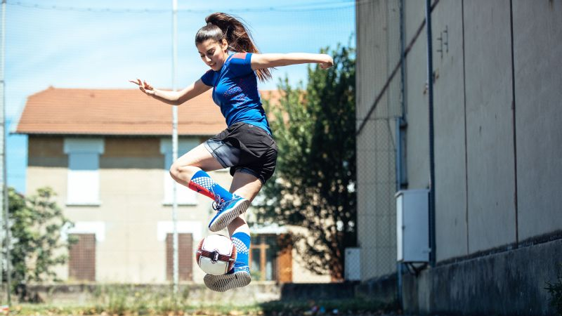 Lisa Zimouche's freestyle skills have earned her social media fame and a Puma ambassadorship.