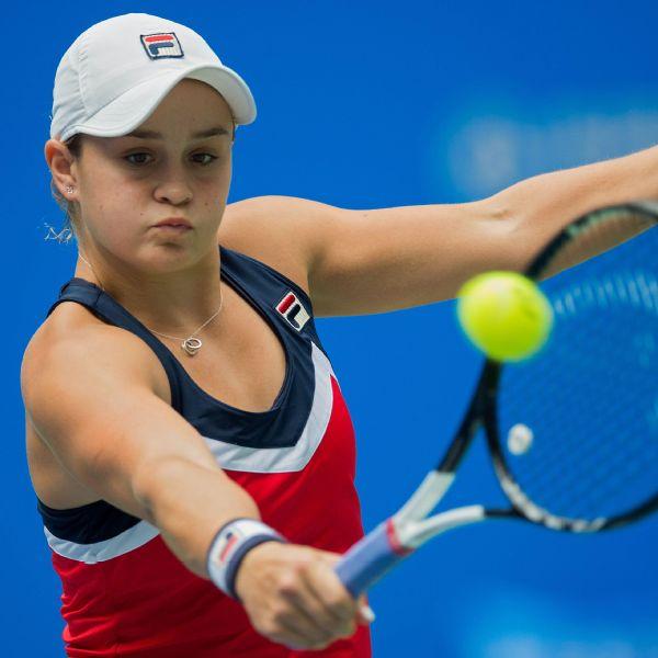 Ashleigh Barty: Ashleigh Barty, Wang Qiang Reach Wuhan Open Semifinals