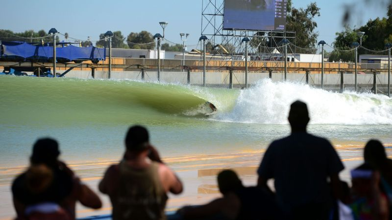 WSL Surf Ranch Pro at the Kelly Slater Surf Ranch