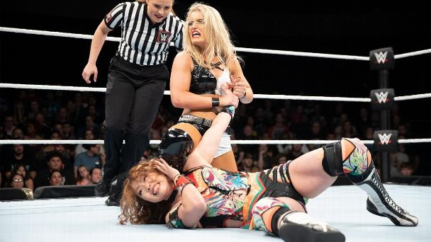 The second round match between Toni Storm and Hiroyo Matsumoto has been one of the standout performances thus far in the 2018 Mae Young Classic.