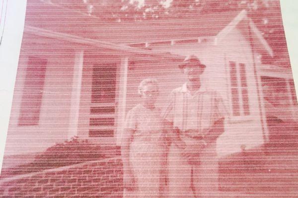 Wilson and her husband, John, around 1975.