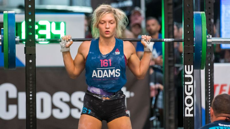 Haley Adams won nine out of the 11 events in her age division at the 2018 CrossFit Games.