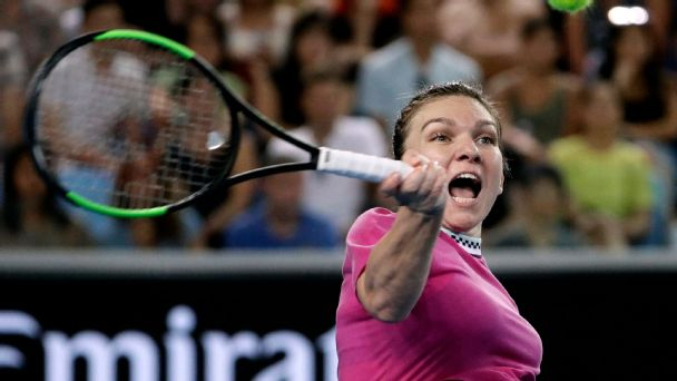A host of WTA stars could overtake Simona Halep for the top ranking by the end of the Australian Open.