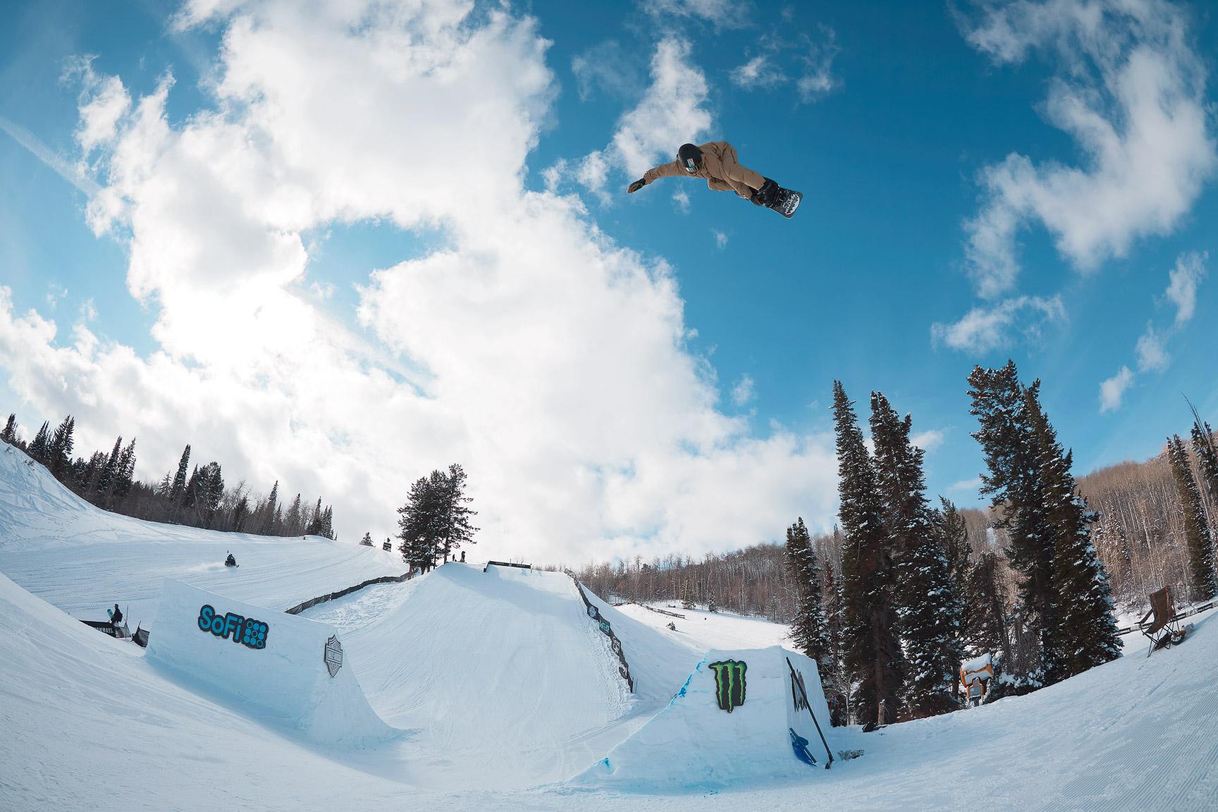 Red Gerard, Men's Snowboard Slopestyle Practice