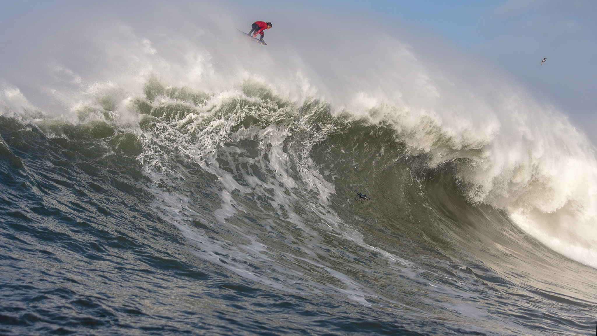 Kai Lenny, Mavericks, California