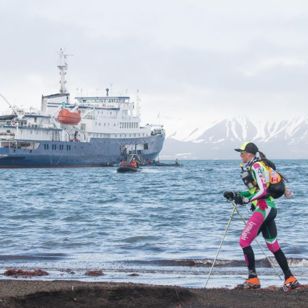 Mariash won The Last Desert race, held in Antarctica, but the Ice Ultra is expected to be even colder.
