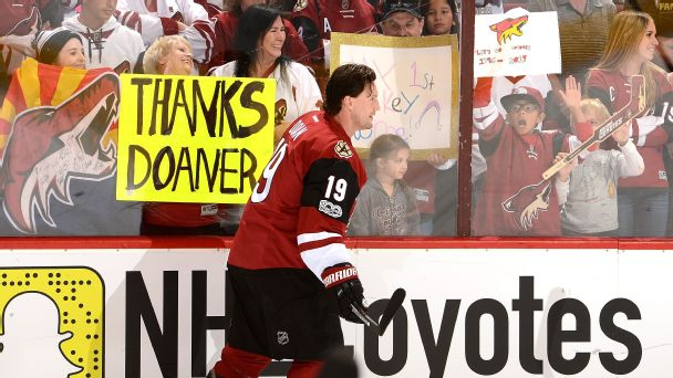 Shane Doan is an icon of the Coyotes franchise. Does he have a case for the Hall of Fame?