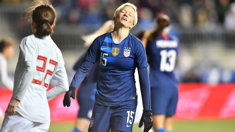 USA  women tie England 2-2 at SheBelieves Cup
