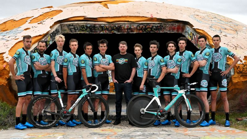 Floyd Landis is sponsoring a team of 12 riders with varying levels of experience.