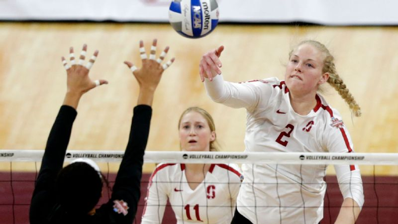 Kathryn Plummer, a three-time first-team All-American and two-time espnW player of the year, looks for a third NCAA championship with Stanford.