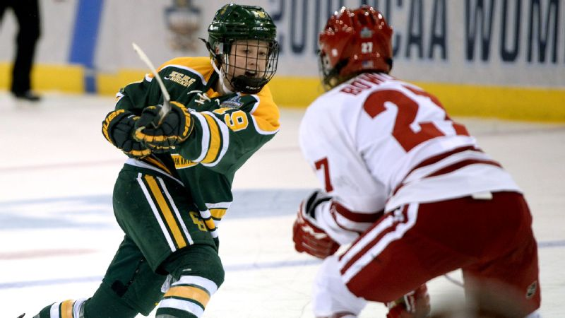 Clarkson's Loren Gabel won the Patty Kazmaier Memorial Award, given to the top Division I women's ice hockey player.