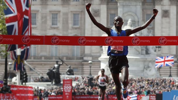 Daniel Wanjiru is hoping for a repeat of his 2017 performance, when he won the London Marathon.