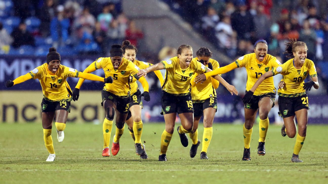 Jamaica Women's Soccer, Reggae Girlz