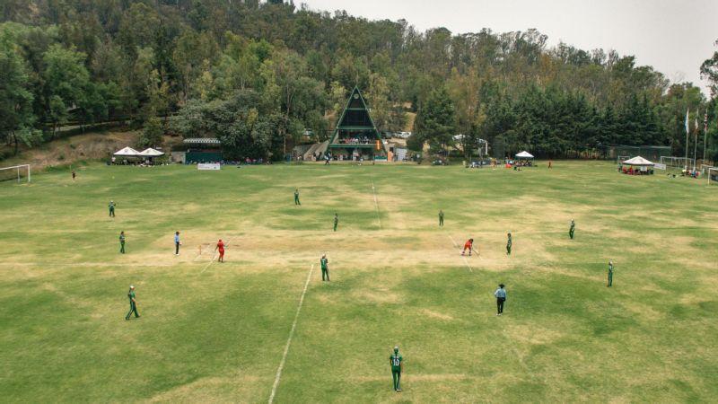Mexican women's cricket