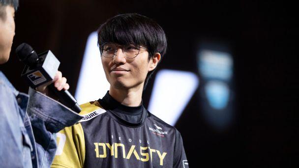 Baek Fissure Chan-hyung Overwatch League Seoul Dynasty retirement