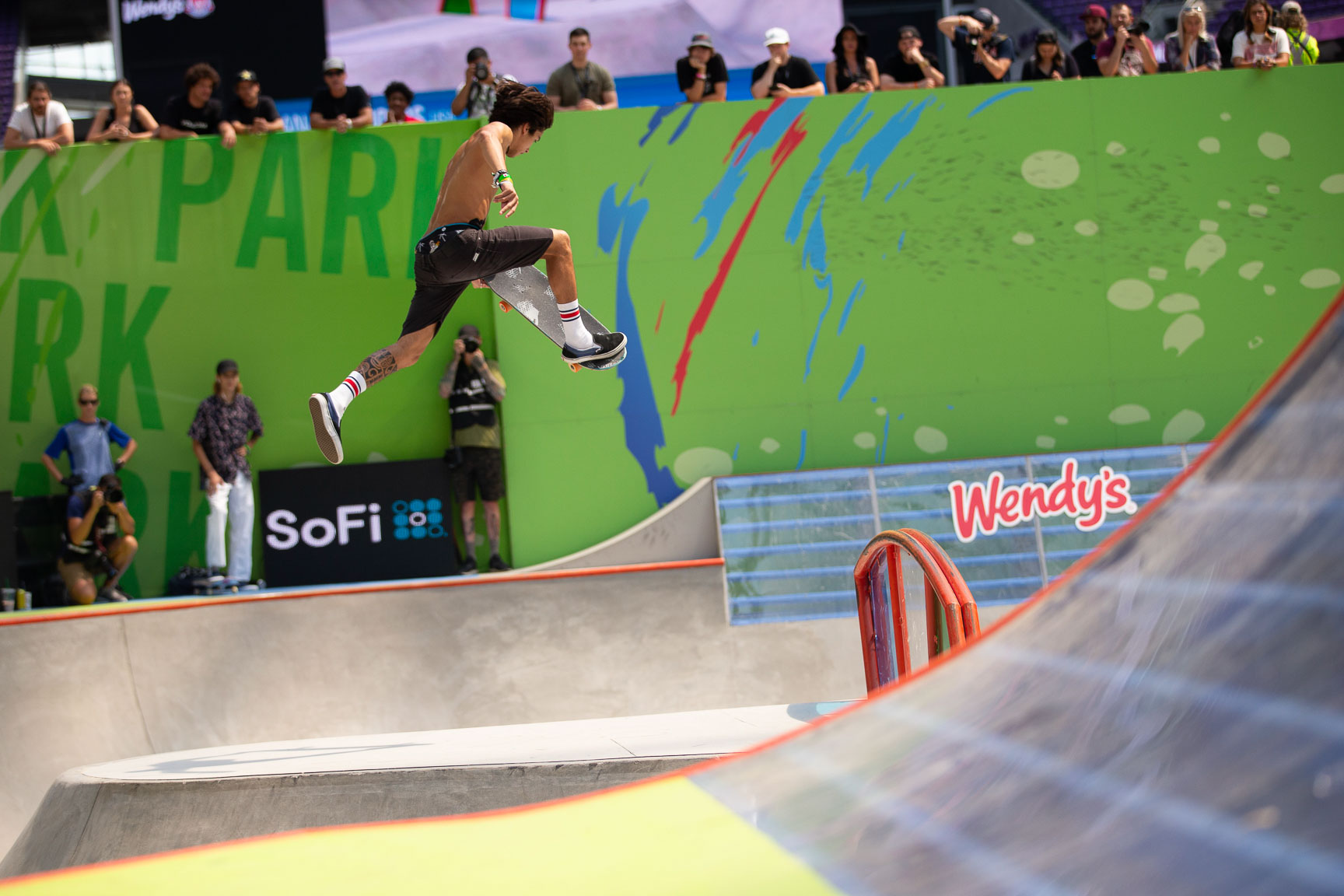 Heimana Reynolds, Men's Skateboard Park Final