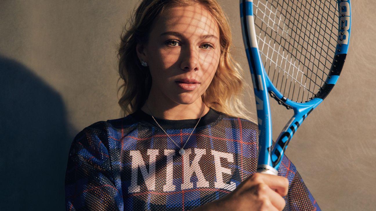 Inside Amanda Anisimova's plan to become tennis's next superstar