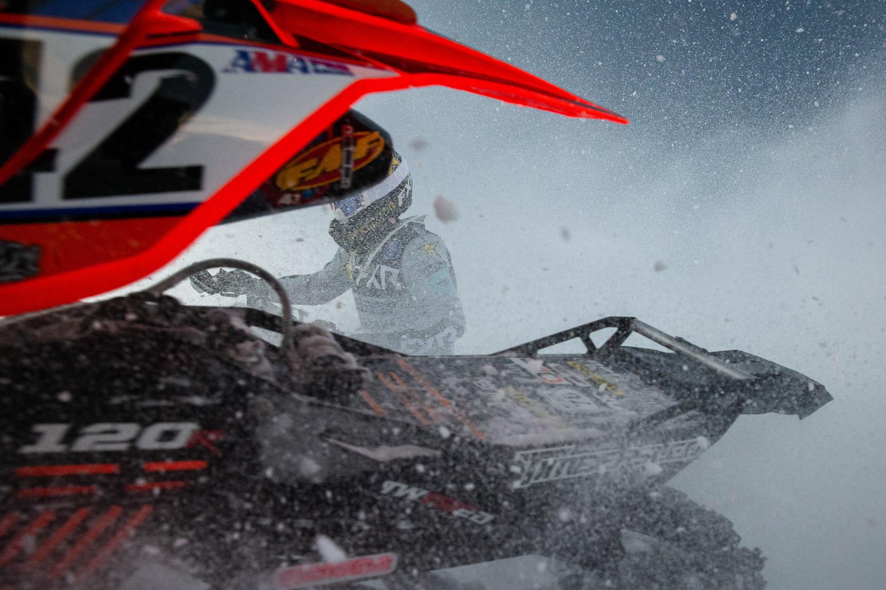 Brock Hoyer, Snow BikeCross