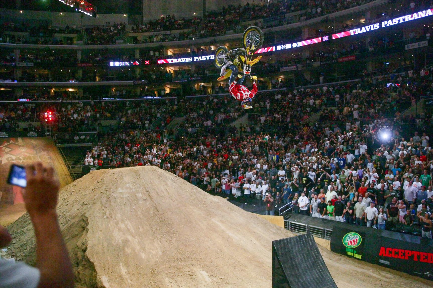 #2 Travis Pastrana: Moto X Double Backflip