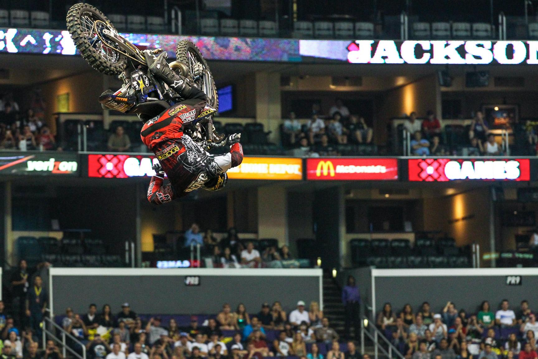 #15 Jackson Strong: Moto X Frontflip